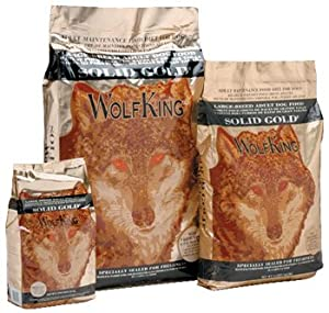 Solid Gold Wolf King Adult Bison 33 lb from Solid Gold Health Products for Pets, Inc.