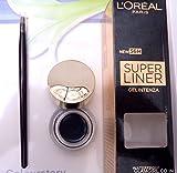 LOREAL Paris SUPER LINER CHIC BROWN 02 GELINTENZA WATERPROOF Eyeliner Kajal 2.8g*2 (Pack Of 2)