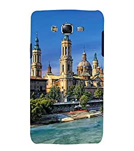 printtech Beautiful City Dome Building Back Case Cover for Samsung Galaxy Grand Prime G530h