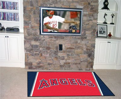 Los Angeles Angels Area Rugs 5 X 8 Size