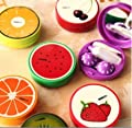 PETMALL 7.5*7.5*2.4CM New Sweet Fruit Series Contact Lenses Box & Case/Contact lens Case OFFICE-228