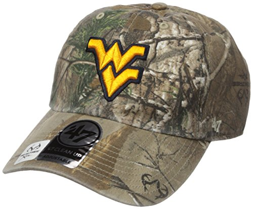 NCAA West Virginia Mountaineers Realtree Clean Up Adjustable Hat, One Size, Realtree Camo (Old West Merchandise compare prices)