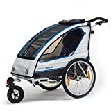 Qeridoo Sportrex 2 Kinder-Fahrradanhänger