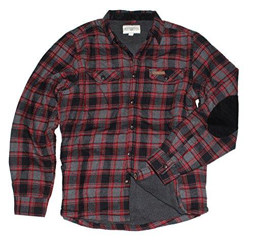 field-stream-sherpa-lined-shirt-jacket-xl-heather-blk-red