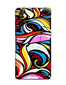 GetASkin Grafiti back case for Xperia Z3