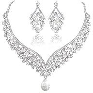 EVER FAITH� Women's Crystals Bridal F…