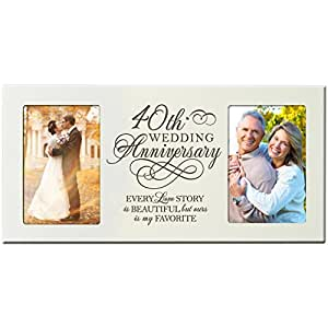 Wedding Gift For 40 Year Old Couple : Amazon.com - 40th Wedding Anniversary Gifts for Couple 40 Year ...