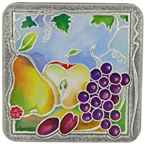 Churchill's Fruit and Viine Tin with Belgian Chocolate Biscuits 200 g