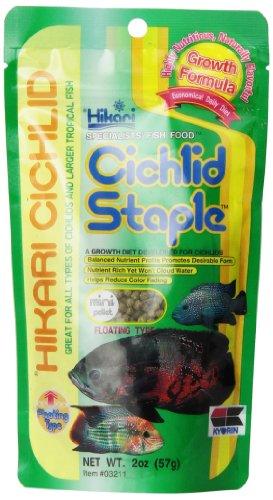 Hikari 2-Ounce Cichlid Staple Floating Pellets For Pets, Mini
