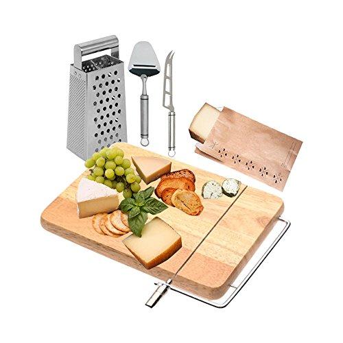 Kitchen gems gourmet cheese utensil gift set this 5 item for Kitchen kit set