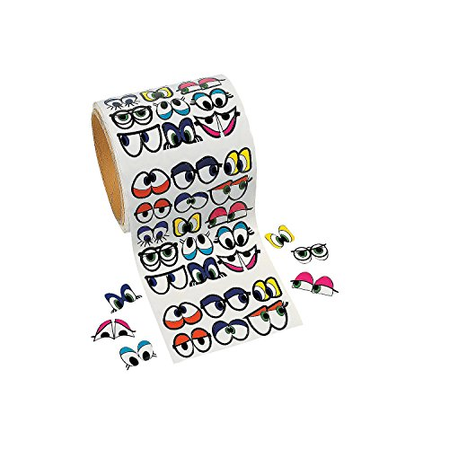 1005 Pcs - Cute Colorful Eye Stickers - Stickers & Labels & Novelty Stickers