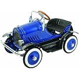 Dexton Llc Deluxe Blue Roadster Pedal Car Blue