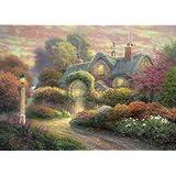 Rosebud Cottage 1000Pcs Jigsaw