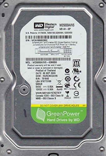 WD5000AVVS-63M8B0, DCM HGRCNV2AHN, Western Digital 500GB SATA 3.5 Hard Drive coupons 2016