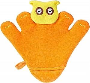Bieco 04103002 Waschhandschuh / Handspielpuppe, alrededor de 24,5 x 22 x 1,5 cm de color naranja, por Bieco