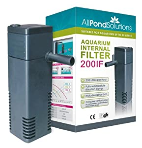 All pond solutions 200if aquarium internal filter 200 for Best pond filter review