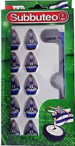 Subbuteo Football Team Set (Blue/ White)