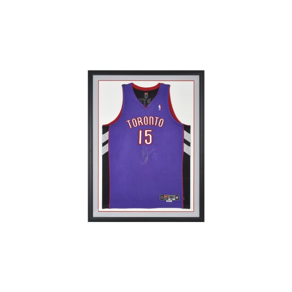 pretty nice 562e3 65819 Mounted Memories Toronto Raptors Vince Carter Autorgraphed ...