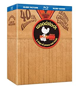 Woodstock: 3 Days of Peace & Music Director's Cut (40th Anniversary Ultimate Collector's Edition and BD-Live with Amazon Exclusive Bonus Content) [Blu-ray]