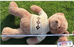 100cm Retro Teddy Bear Doll Couple Bear Doll Dolls Plush Toys, Valentine's Day and Christmas Gifts