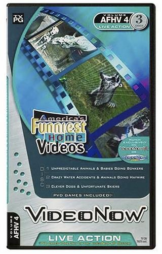 Videonow Personal Video Disc 3-Pack: America's Funniest Home Video #4 - 1
