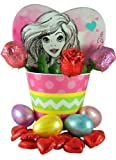 Disney Princess Easter Basket with Ariel Candy Box and Assorted Chocolate Candies