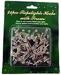 24 rope light hooks with screws C24