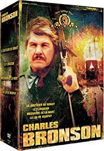 coffret charles bronson 4 dvd le justicier de minuit le flingueur le messager. Black Bedroom Furniture Sets. Home Design Ideas