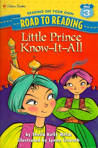 Little Prince Know It All (Road to Reading)