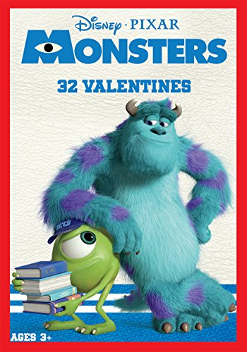 Paper Magic 32CT Showcase Monsters University Kids Classroom Valentine Exchange Cards