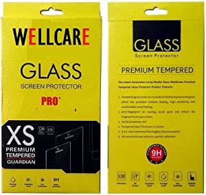 Wellcare Curved Tempered Glass Screen Protector for PANASONIC U2 (2.5D Curved Edges,Ultra Clear,Anti-Scratch,Anti-Fingerprints)