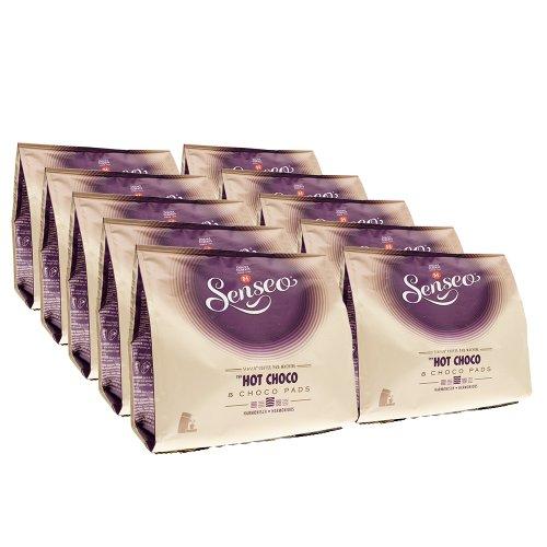 SENSEO Kakaopads Hot Choco, heiße Schokolade, 10 x 8 Kakao Pads