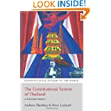 The Constitutional System of Thailand: A Contextual Analysis (Constitutional Systems of the World)
