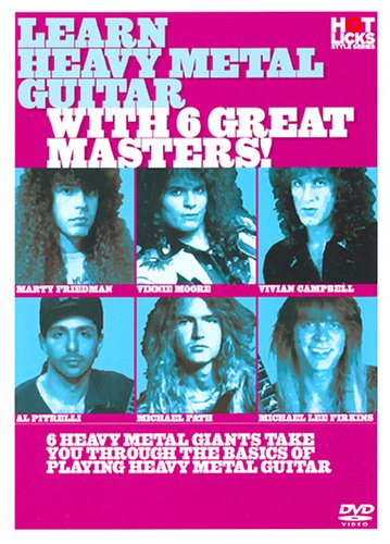 Michael Fath - Learn Heavy Metal Guitar with 6 Great Masters (Subtitled)