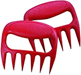 Original BEAR PAWS Pulled Pork Shredder Claws - BBQ Meat Handler Forks - Made in USA
