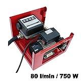Self Priming Bio Fuel Oil Diesel 230V/750W 80l/min Transfer Pump H/D Portalbe