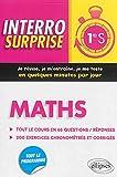 Interro Surprise Maths Première S