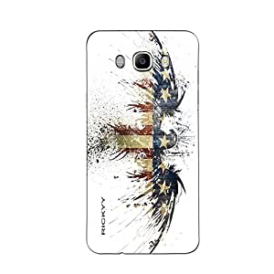 RICKYY _J7_1030 Printed Matte designer Bird case for Samsung J7