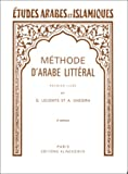 echange, troc G. Lecomte - Méthode d'arabe littéral