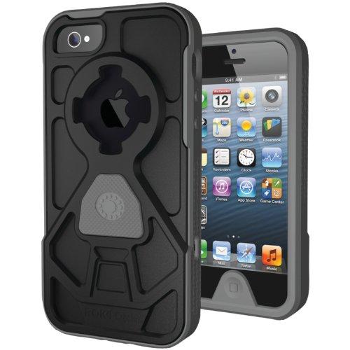 Great Price Rokform RokShield V.2 Bumper Apple iPhone 5 Case with Magnet Grip Insert and Remote Mounting System (Gun Metal Bumper / Gun Metal Body / Gun Metal Grip)