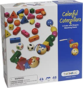 Hape - Beleduc - Colorful Caterpillars Game