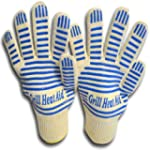 #1 Oven Gloves - 932�F Extreme Heat R...