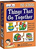 A self correcting memory game of 28 two piece jigsaws puzzles.