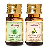 StBotanica Lemongrass + Ylang-Ylang Pure Essential Oil (10ml Each)