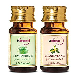 StBotanica St.Botanica Lemongrass + Ylang Ylang Pure Essential Oil