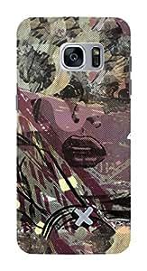 Koveru Back Cover Case for Samsung Galaxy S7 Edge - Girl in danger