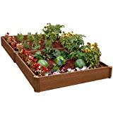 Greenland Gardener 8-Inch Raised Bed Double Garden Kit (Discontinued by Manufacturer)