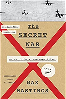 Book Cover: The Secret War: Spies, Ciphers, and Guerrillas, 1939-1945