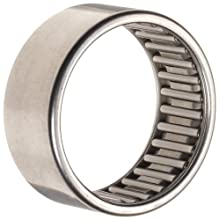 Koyo Torrington Needle Roller Bearing, Caged Drawn Cup, Steel, Metric