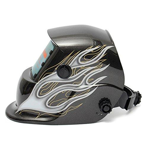 Black Flame Solar Auto-Darkening Welder Welding Helmet Mask (Welding Helmet Accesories compare prices)
